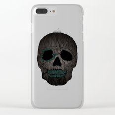 Skull No.2 Clear iPhone Case