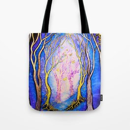 Trees - Towards the Light Tote Bag