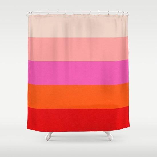 mindscape 6 Shower Curtain