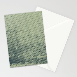 Grunge Delight Sepia Halftone Stationery Cards