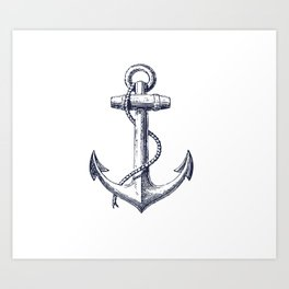 Anchor dS Art Print