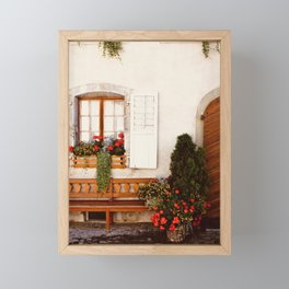 Fete Nationale - Gruyere, Switzerland  Framed Mini Art Print