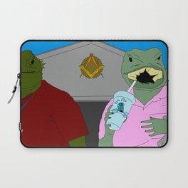 Lizard Gossip Laptop Sleeve