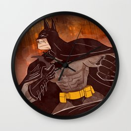 KNIGHT OF DARKNESS Wall Clock