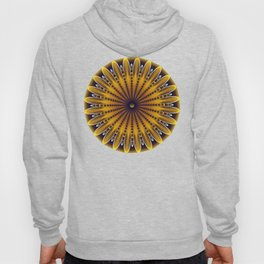 The fractal sunflower Hoody