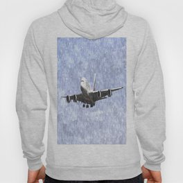 Emirates A380 Airbus Watercolour Hoody