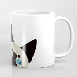 Peeking Siamese Coffee Mug