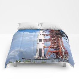 NASA Apollo 17 Spacecraft 1972 Comforters