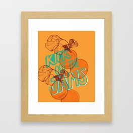 Apricots Framed Art Print