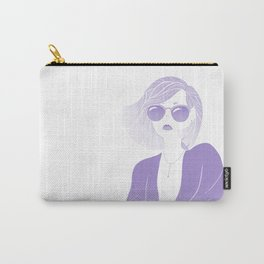 Lavender Shades Carry-All Pouch