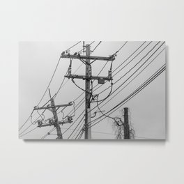 A Slow Takeover Metal Print
