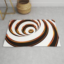 Concentric Circles - Optical Illusion Rug