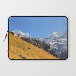 Annapurna mountain range Laptop Sleeve