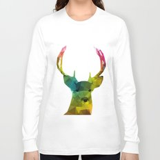 Glass Animal - Deer head Long Sleeve T-shirt