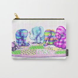Elephant's Brunch Carry-All Pouch