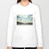 sail Long Sleeve T-shirts featuring sail away by Bonnie Jakobsen-Martin
