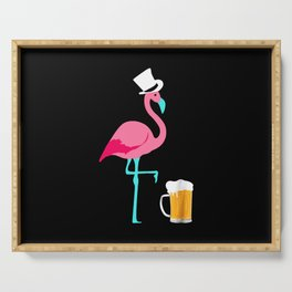 Flamingo Party Serving Tray