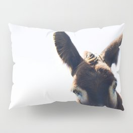 Two Ears One Mouth Pillow Sham