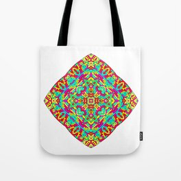 Four Owls Mandala Tote Bag