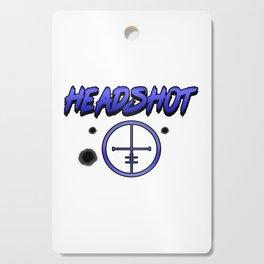 Crosshair computer game online internet shooter gamer giftidea Cutting Board