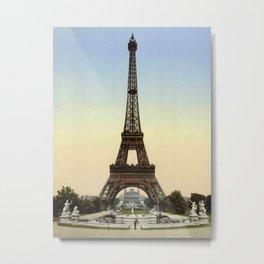 Eiffel tower 1- in 1900 Metal Print