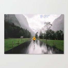 Lauterbrunnen valley Canvas Print