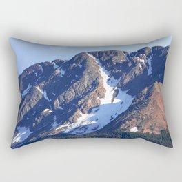 Twilight Peaks in the San Juan Moutain Range Rectangular Pillow