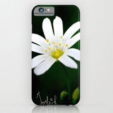 White Flower iPhone 6s Slim Case