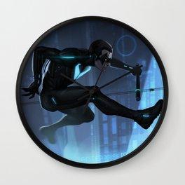 Nightwing Beyond Wall Clock