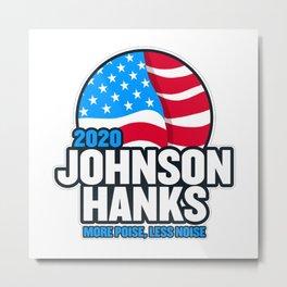 Johnson And Hank 2020 Metal Print