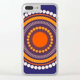 Bloom Mandala Clear iPhone Case