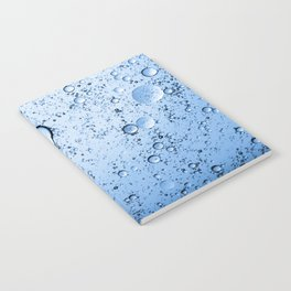 Blue Bubbles Notebook