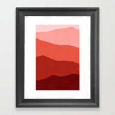 700 nm Framed Art Print