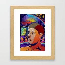 Ian Curtis No. 2 Framed Art Print
