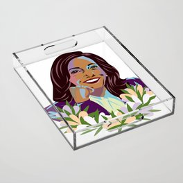 Madam Vice President for the People Acrylic Tray