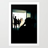 wedding Art Prints featuring Wedding by T. Todd Photos