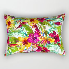 Tropical Bright Rectangular Pillow