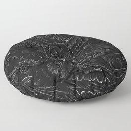 Raven Rage Floor Pillow