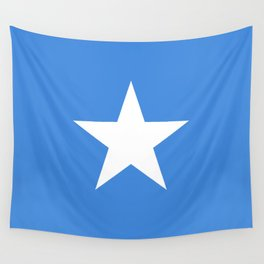 National flag of Somalian - Authentic version to scale and color Wall Tapestry