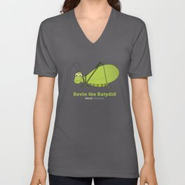 Kevin the Katydid Unisex V-Neck