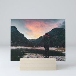 Kranjska Gora, Slovenia Mini Art Print