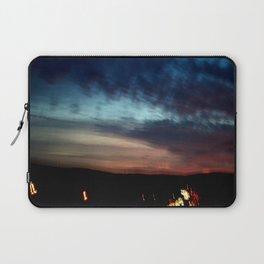 Night Lights Moving Sunset 30 Laptop Sleeve