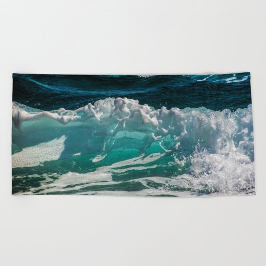 Crash me outside Beach Towel