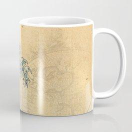 Hokusai parchment Coffee Mug