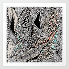 Silver Jewel Art Print