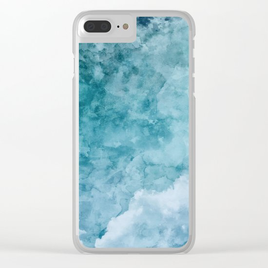 Over The Clouds Clear iPhone Case