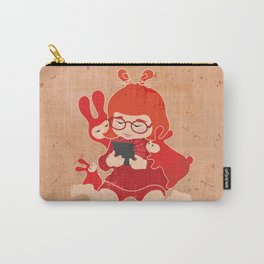 Tablet Girl - Let's Share Carry-All Pouch
