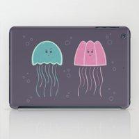 jellyfish iPad Cases featuring Jellyfish by Teo Zirinis