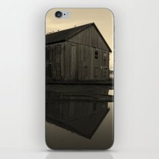 Warehouse Reflection in Yellow iPhone & iPod Skin