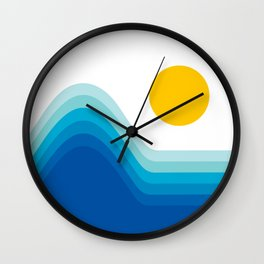 Ocean Horizon Wall Clock